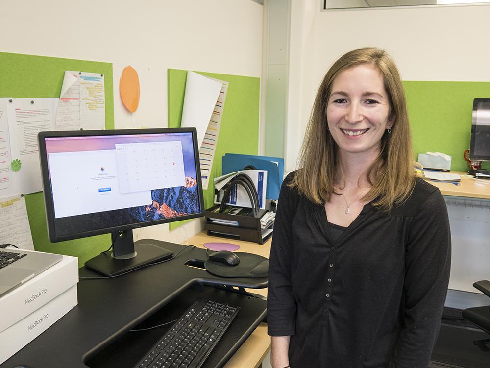 PhD candidate Natasha Reid