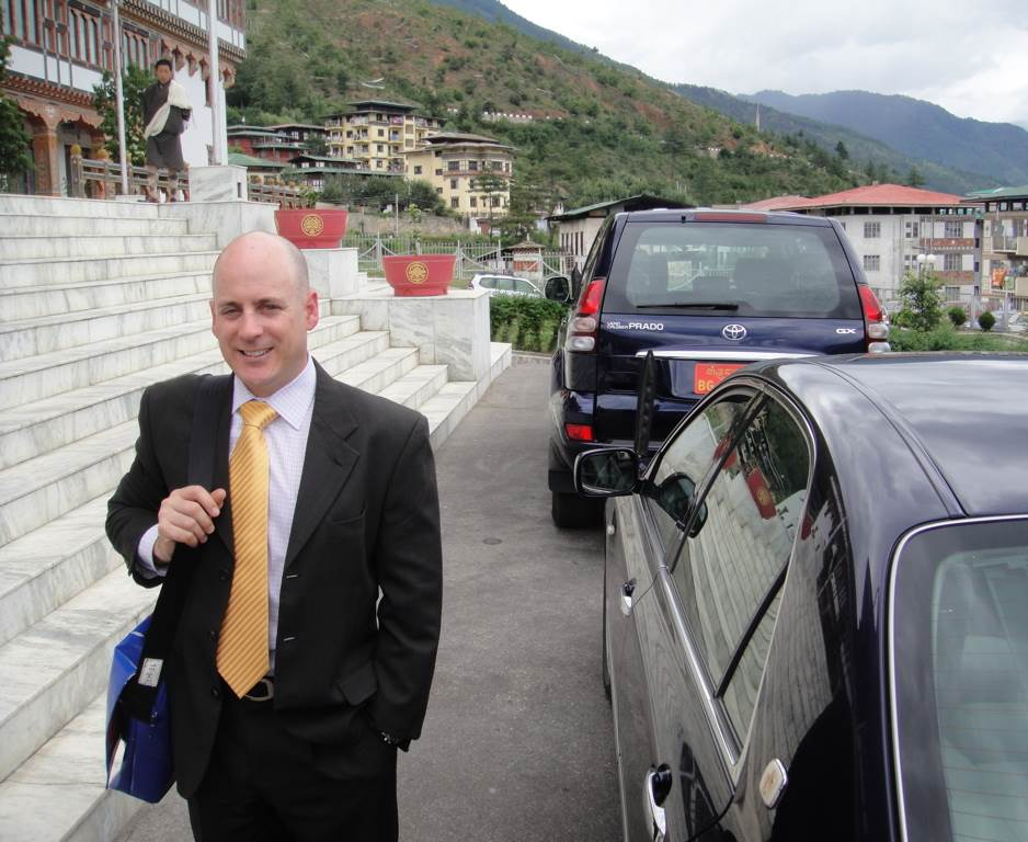 Sean Lybrand in Bhutan