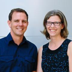 Dr Johan Rosengren and Dr Christina Schroeder