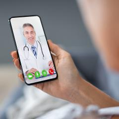 Telehealth COVID-19 website