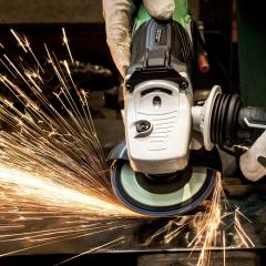Angle grinders cause the most injuries relating to power tools.
