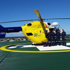 Critical care on the fly