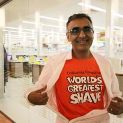 Professor Maher Gandhi will go bald for the World's Greatest Shave.