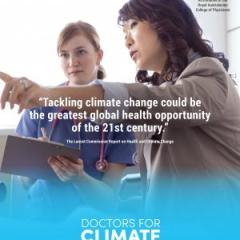 Tackling climate change could be the greatest global health opportunity of the 21st century