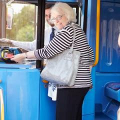 Staying mobile via public transport can help with social activities