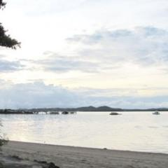 Sunset on the shores of the Torries Strait Islands